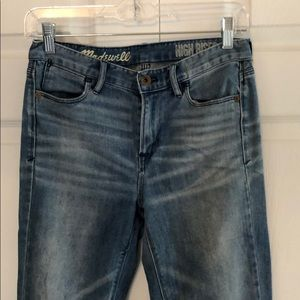 Madewell High Riser Jean